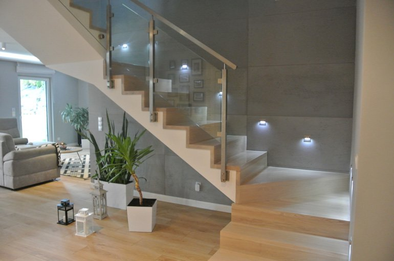 Architectural concrete for interiors