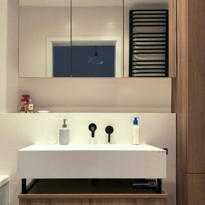 washbasin-with-linear-drain-and-cabinet